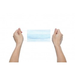 Gumosznurek elastyczny do maseczek 1mm Biały