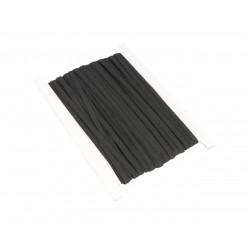 Guma płaska do maseczek 7mm Czarna 1mb
