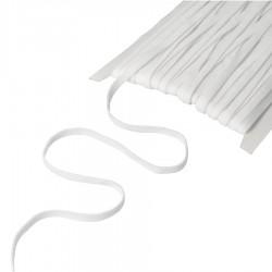 Guma płaska elastyczna 0,5cm Biała 100m