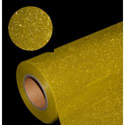 Folia glitter PU GL05 gold