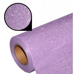 Folia glitter PU GL10 pastel lavender