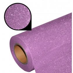 Folia glitter PU GL11 pastel pink