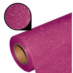 Folia glitter PU GL12 pink