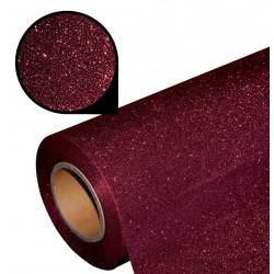 Folia glitter PU GL13 wine