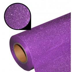 Folia glitter PU GL16 violet