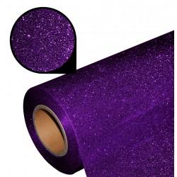 Folia glitter PU GL18 deep purple