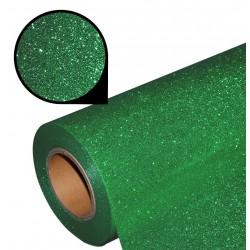 Folia glitter PU GL20 green
