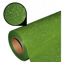 Folia glitter PU GL21 light green