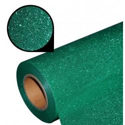 Folia glitter PU GL24 emerald