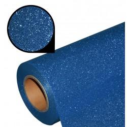 Folia glitter PU GL28 blue