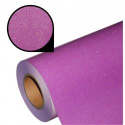 Folia glitter PU GL37 rainbow purple