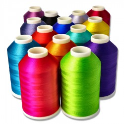 Viscose thread