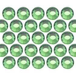 Glass rhinestone beads SS6 (2mm) Green