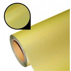 Folia pearl flex PU PF12 holo yellow