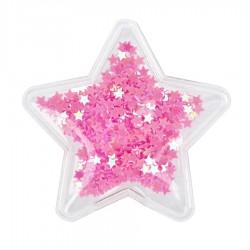 Aplikacja przezroczysta Gwiazda z kolorowymi gwiazdkami
