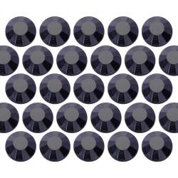 Kryształki ozdobne Dżety szklane SS6 (2mm) Jet Black