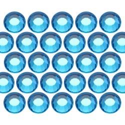 Dżety szklane SS6 (2mm) Aquamarine (Akwamaryna)
