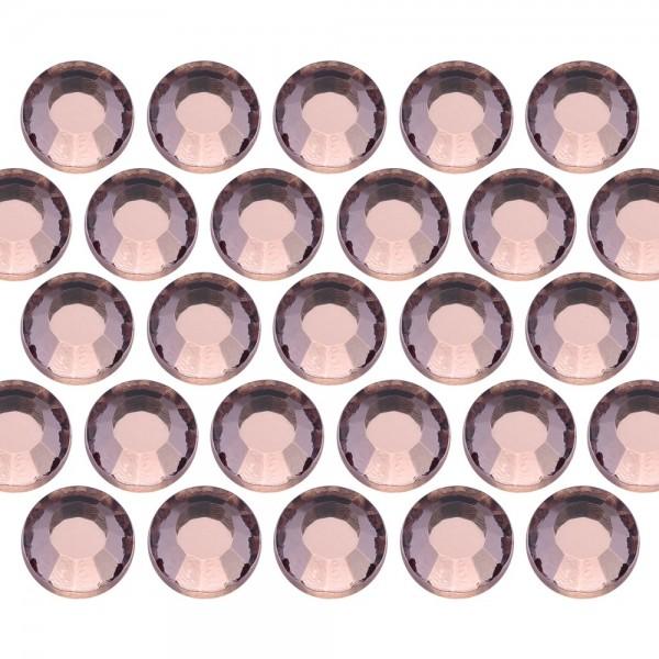 Glass rhinestone beads SS6 (2mm) Peach
