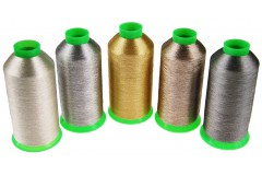 Metallized thread high quality