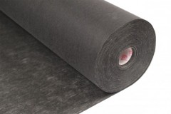 Tear-away non-woven backing